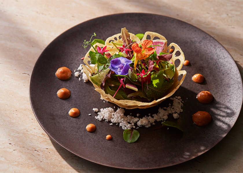 カラダが喜ぶヘルシー料理! vol.16 ローストビーフ&グリル ロッシニ春のベジフレンチコース