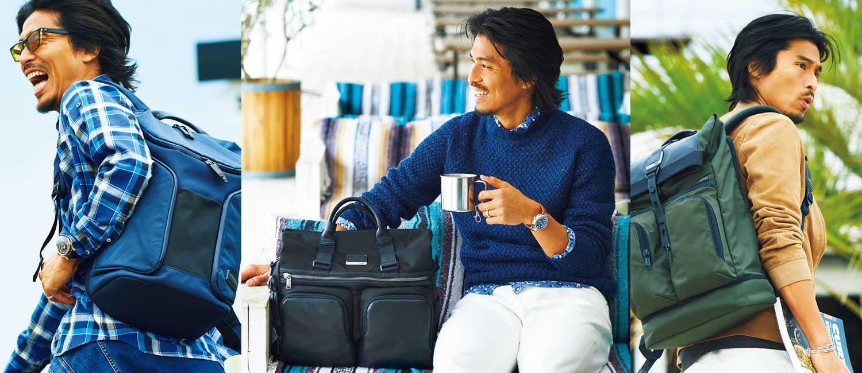 元サッカー日本代表・中澤佑二さんも信頼を寄せる〈トゥミ〉!思わず外出したくなる機能満載の大人顔バッグ!