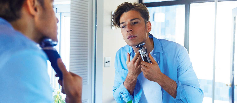 色オトコの頼れる毎日の相棒は〈フィリップス〉!爽やかな男の肌を演出する肌に優しい深剃りシェーバー