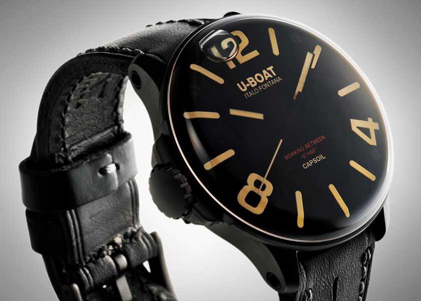 FOCUS ON 今月注目したいモノ・コトドーム型ケース内にオイルを注入した見たことない風貌の特殊時計!