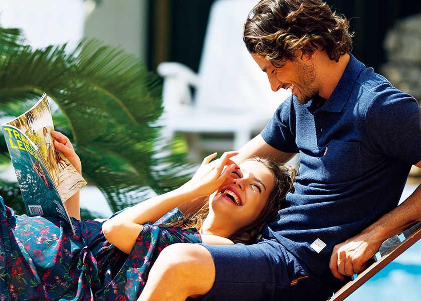 〈ポール・スミス アンダーウェア〉があれば夏旅も安心!バカンス先で重宝するのは心地いい部屋着!