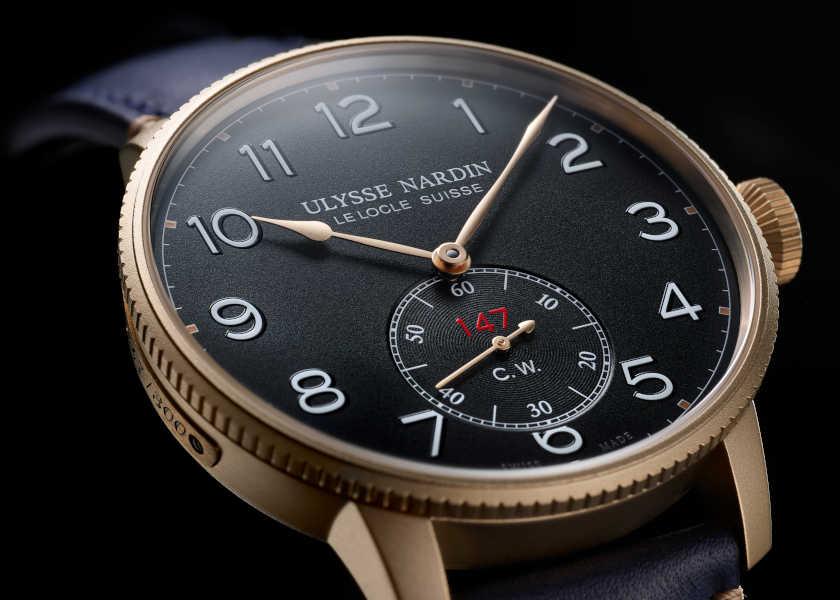 〈ユリス・ナルダン〉の限定ミリ時計は今話題のブロンズケース仕様!