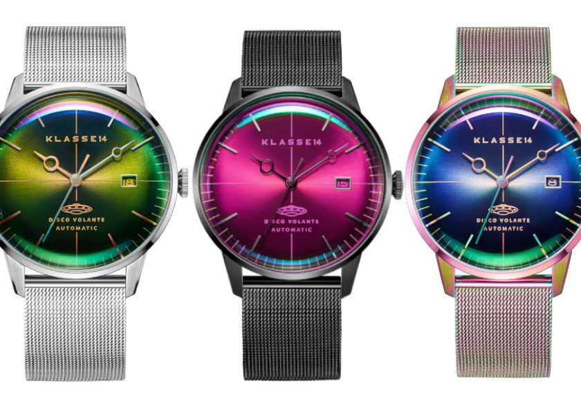 周りの目が釘づけ!〈クラスフォーティーン〉の新作はレトロフューチャリスティックな時計!