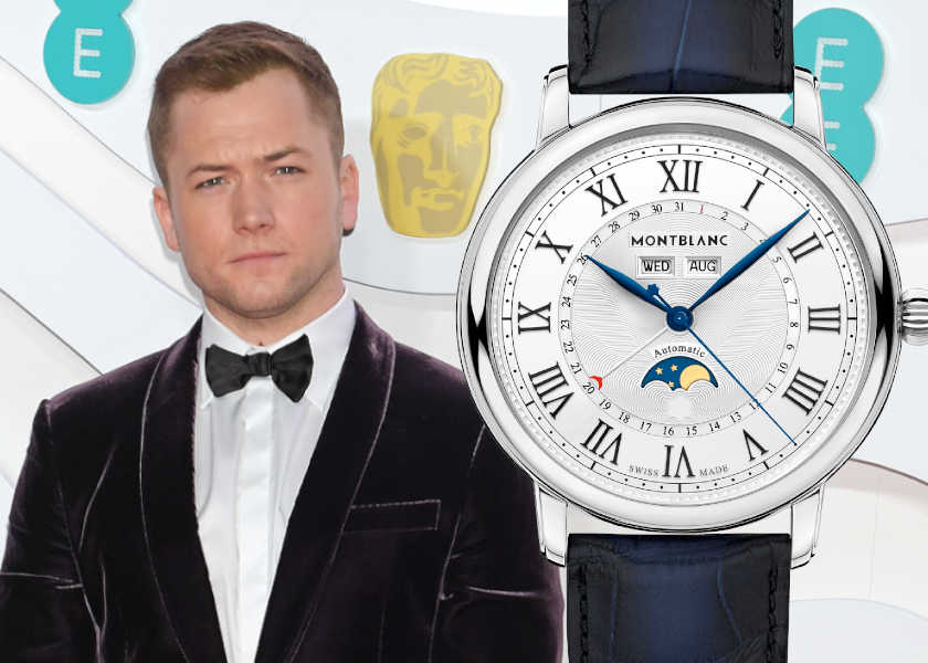 俳優タロン・エガートンがここ一番で愛用するエレガンス時計とは?