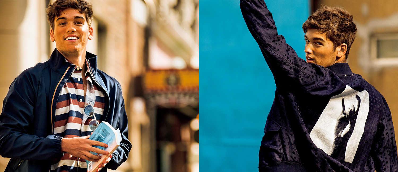 〈ポール・スミス〉で大人に似合う1着を!遊べる紺アウターが春カジュアルを変える!