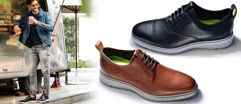 〈エコー〉のレザーシューズは大人顔で快適!〝お洒落〞で〝高機能〞がハイブリッド靴の新基準!