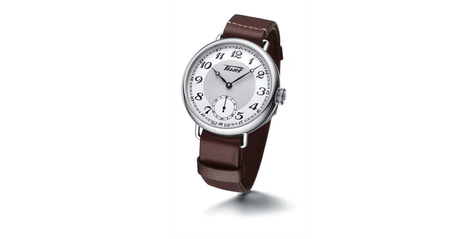 "16e9f08cb0 ""腕時計への革命期""である1936年に存在していた〈ティソ〉のコレクションを再解釈した""ティソ ヘリテージ 1936""。"