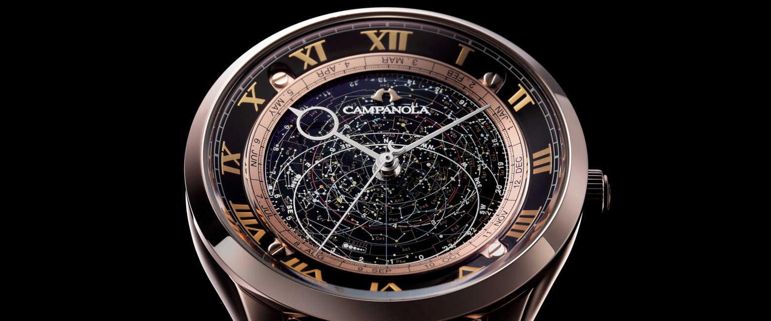 〈カンパノラ〉の限定モデルは星空の動きに酔いしれるロマンチック時計!