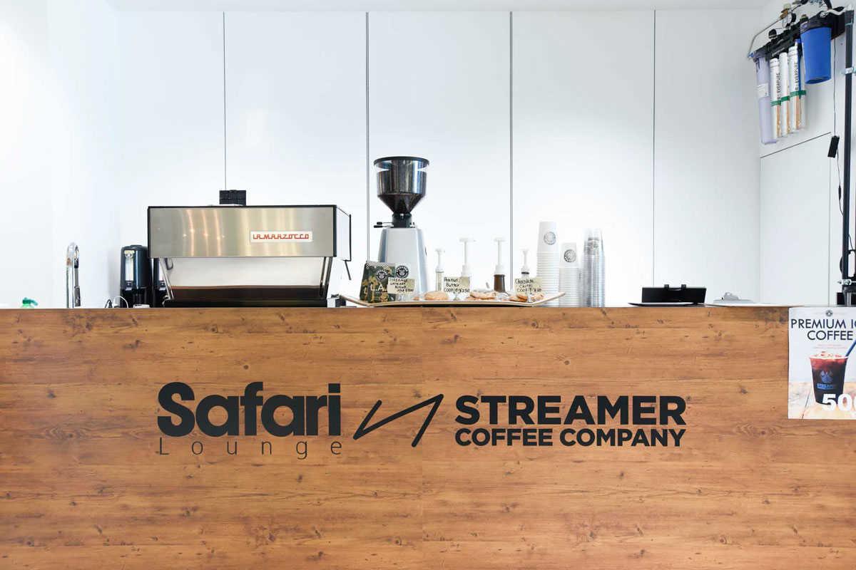 Safari マリン&ウォーク 横浜 SafariLounge セレブ ストリーマーコーヒー ボーコンセプト