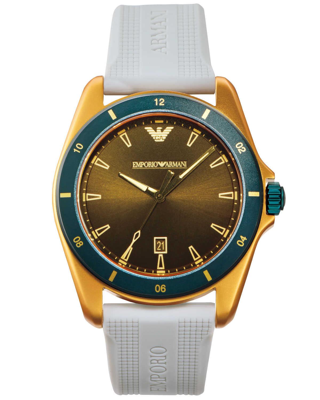 pretty nice 00ad7 51916 初夏の日差しに似合う〈エンポリオ アルマーニ〉の新作時計 ...