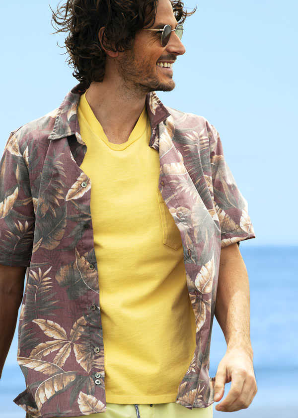 Uplifting aloha shirt & T-shirt