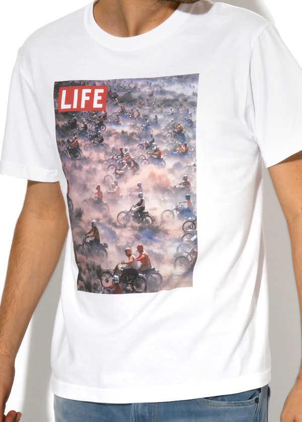 """思わず目を引く""""LIFE""""Tシャツ!"""