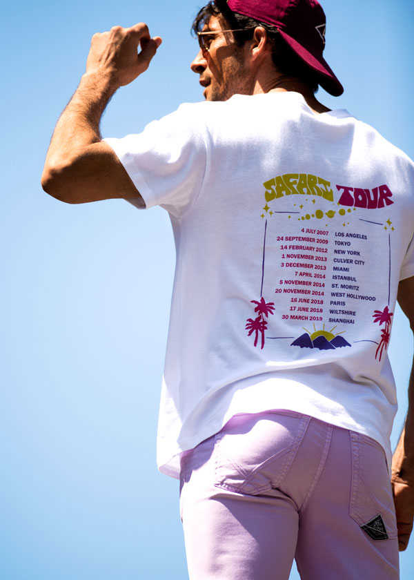10周年企画第5弾は架空のツアーTシャツ!?