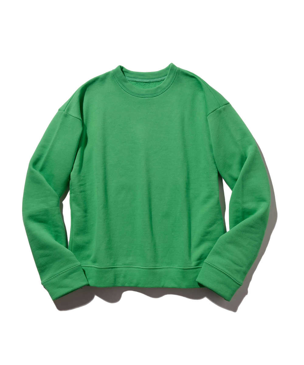コットンフリーススウェットシャツ