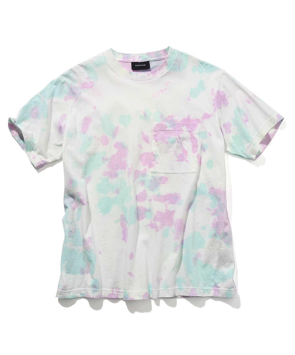 ペイントクルーネックTシャツ