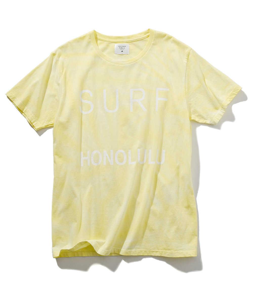 【別注 限定販売商品】タイダイ染めクルーネックTシャツ