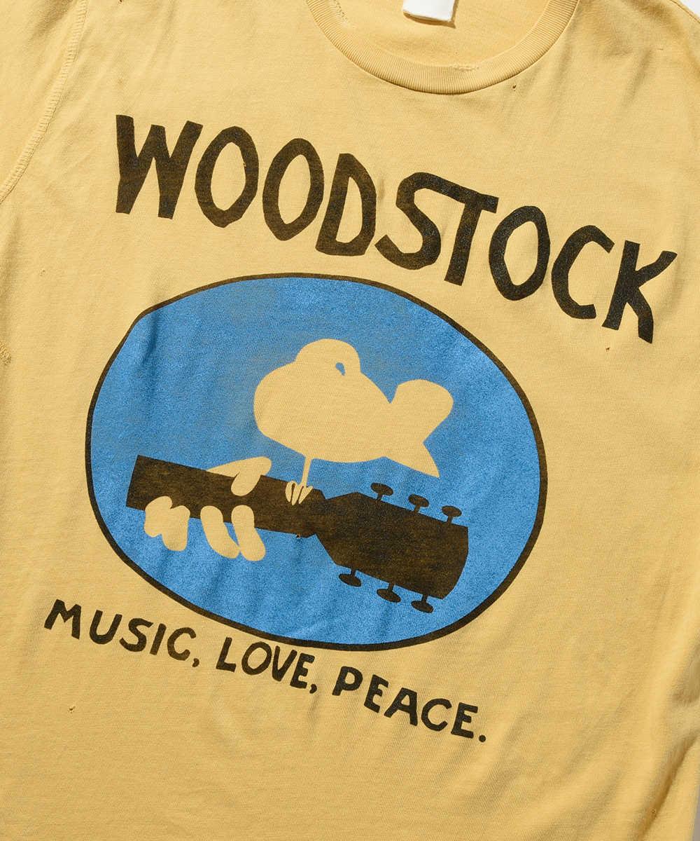 """""""ウッドストック""""クルーネックTシャツ"""