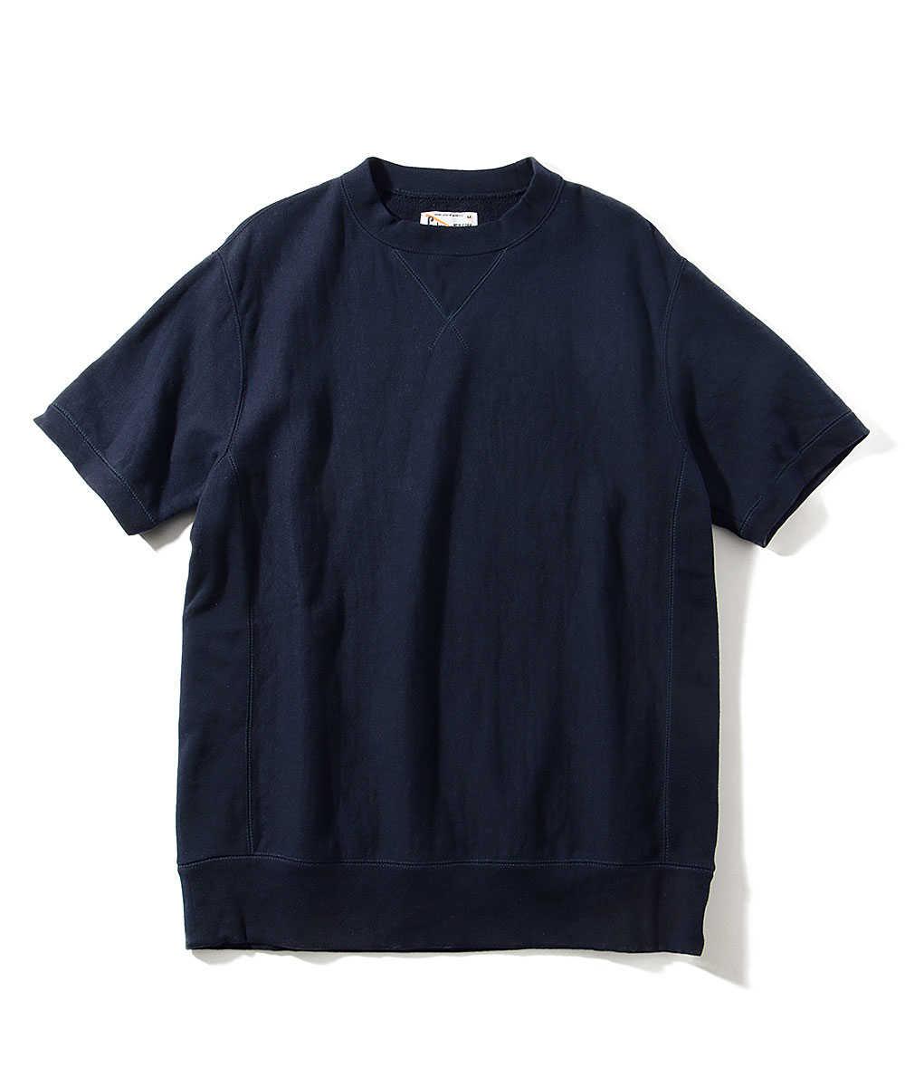 ショートスリーブVガセットスウェットシャツ