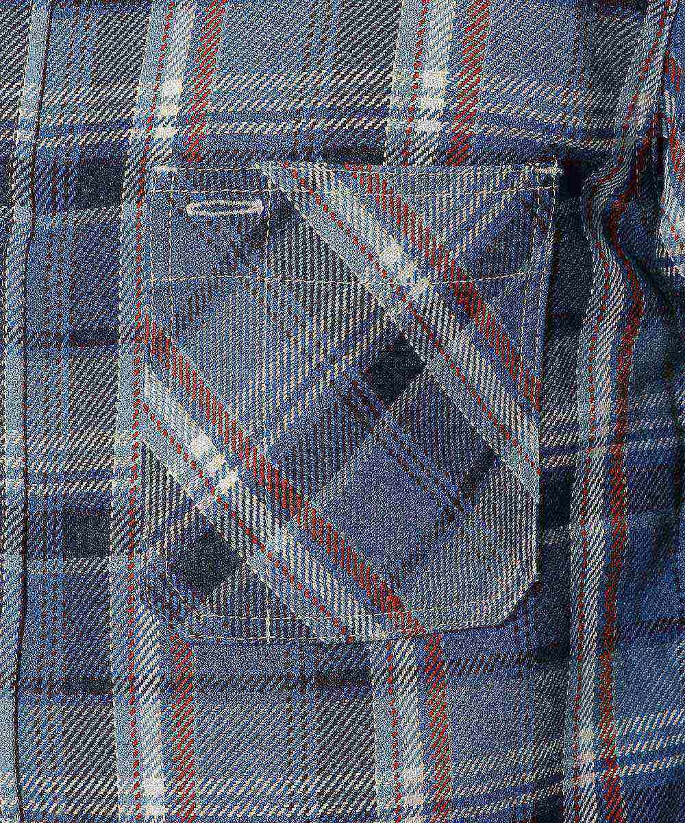 エクストラヘビーフランネルワークシャツ