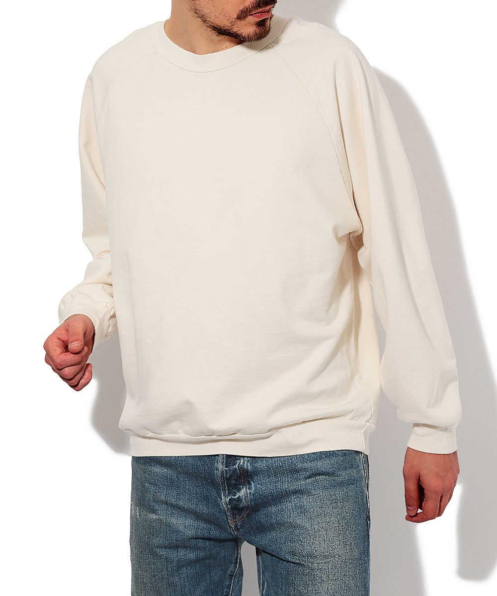オーガニックコットンスウェットシャツ