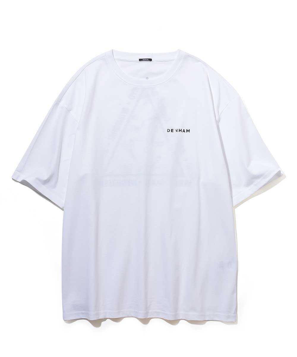 """""""デンハム×ベアブリック トライゴン TEE HCJ""""クルーネックTシャツ"""