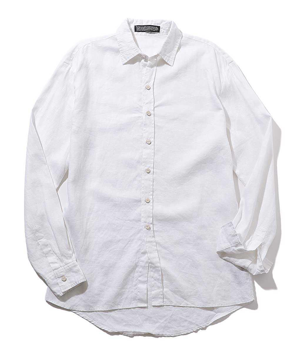 クラシックリネンシャツ