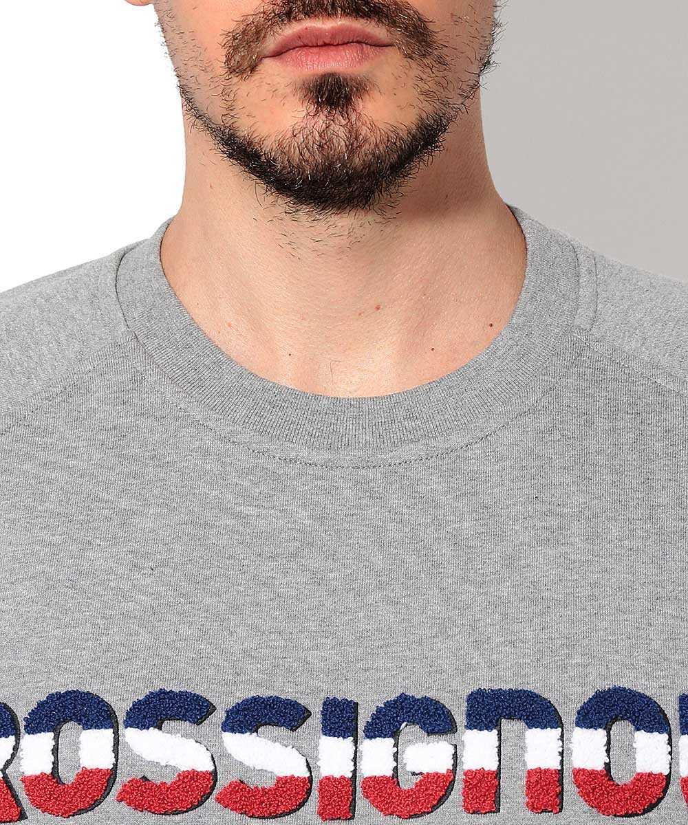 クルーネックロゴスウェットシャツ