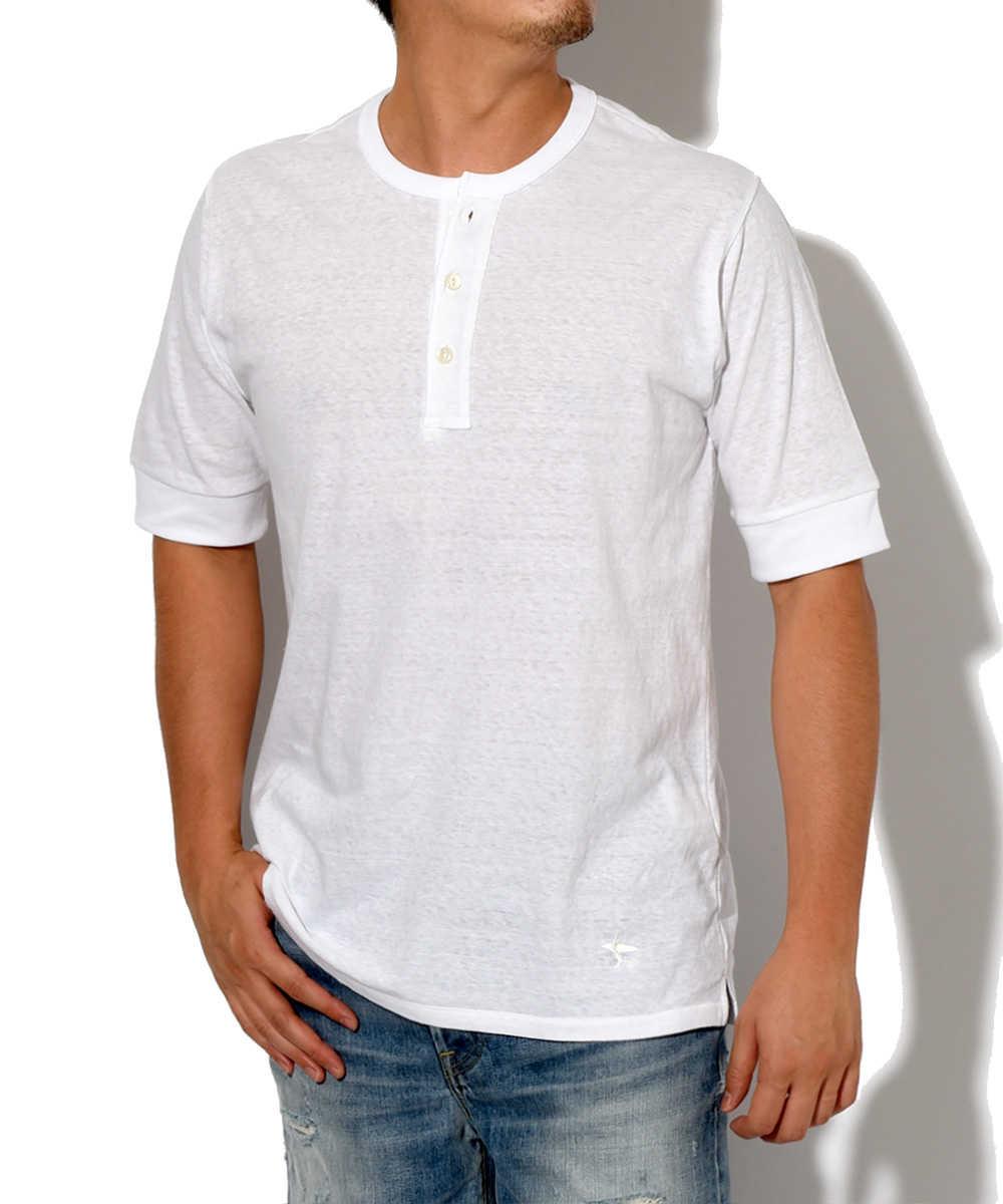 【限定販売商品】ヘンリーネックTシャツ