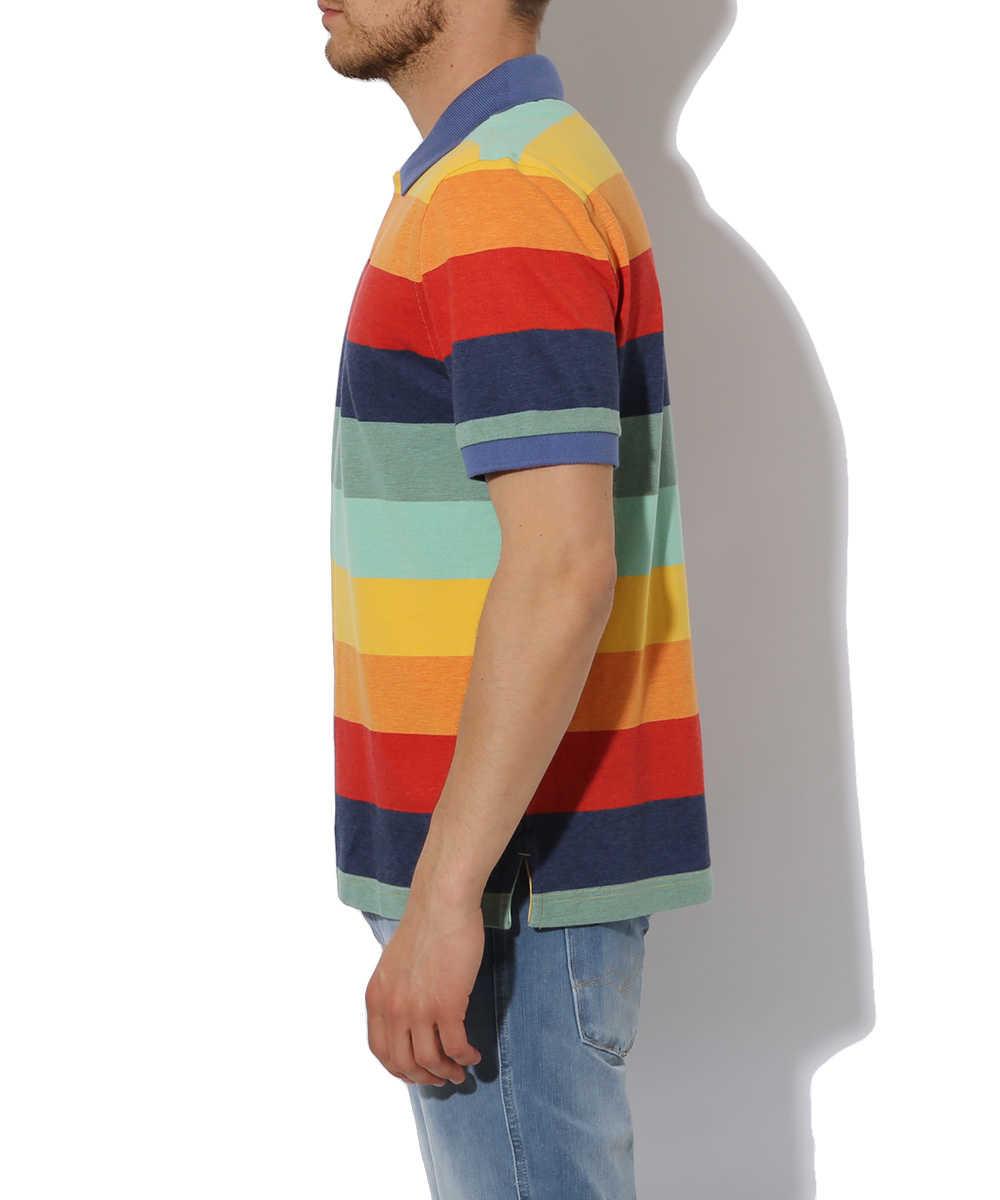 【レッド フリース】ポロシャツ