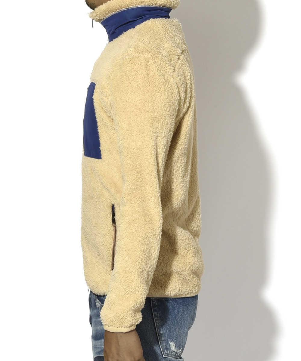 ソフトボアフリースジャケット