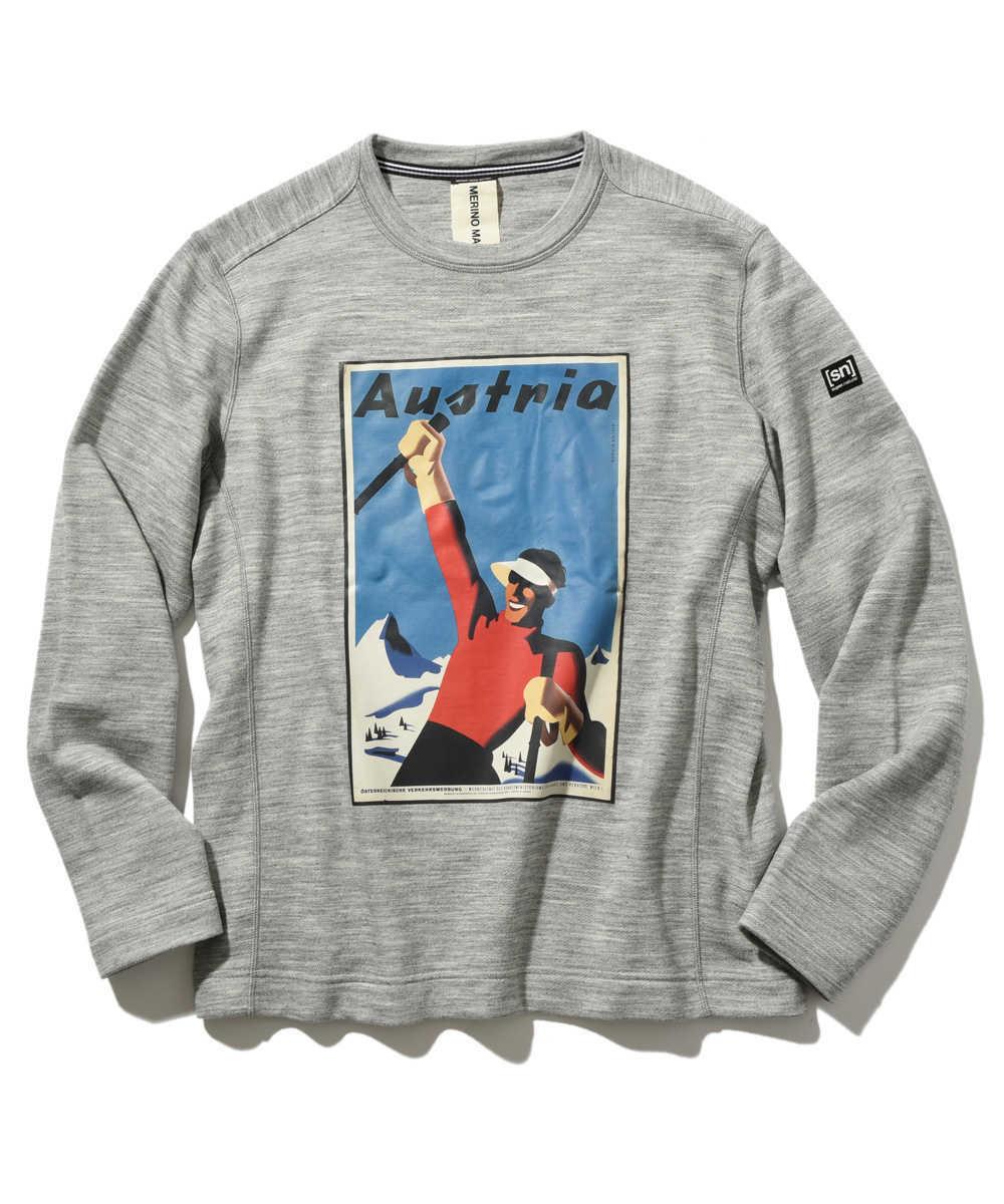 【別注・限定販売商品】クルーネックプリントスウェットシャツ
