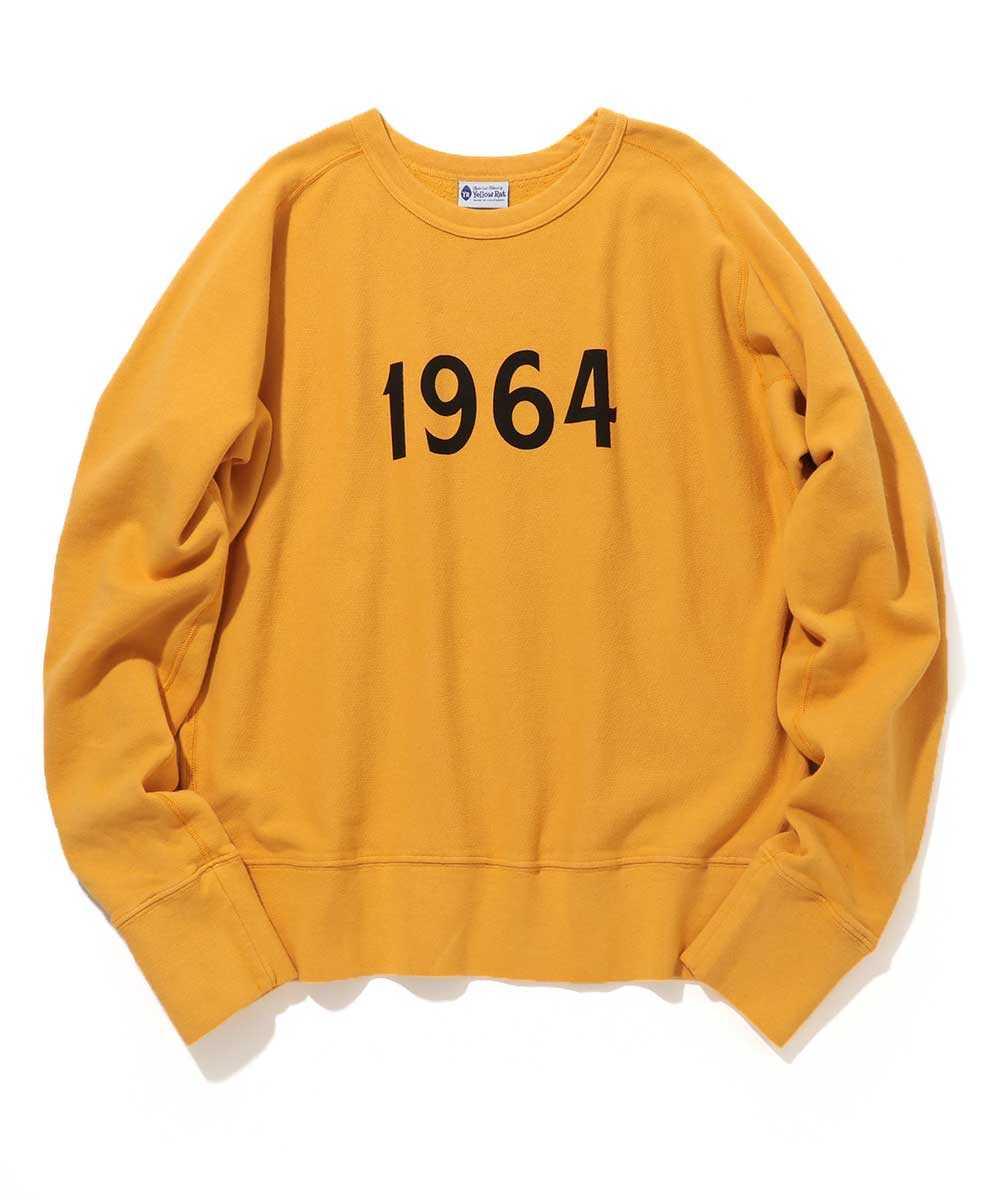 """""""1964""""プリントスウェットシャツ"""