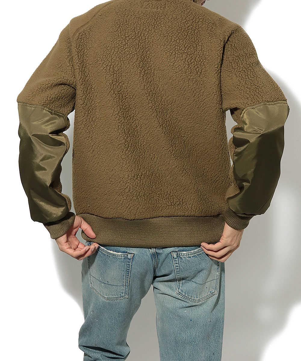パイルフリースジャケット