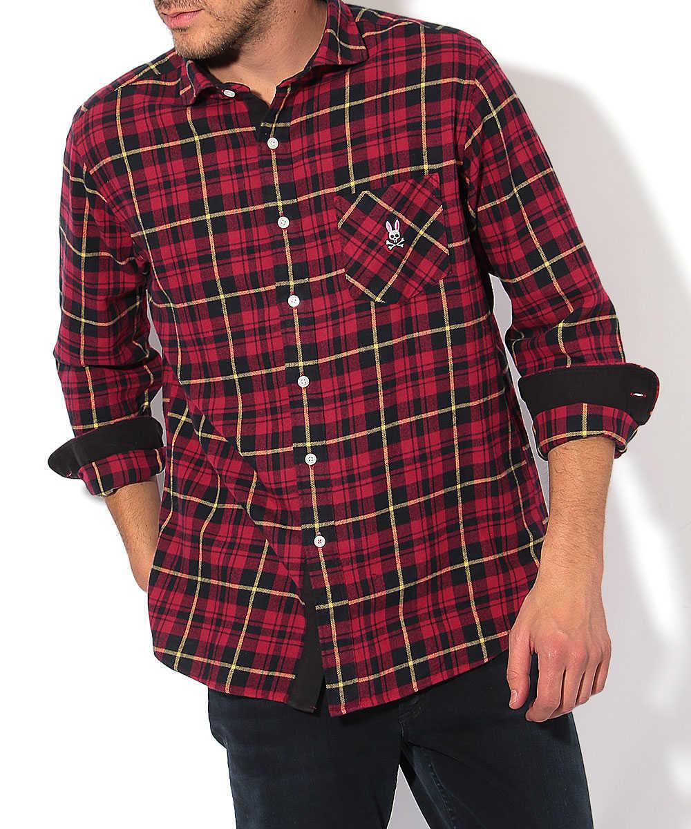 マイクロナップチェックシャツ