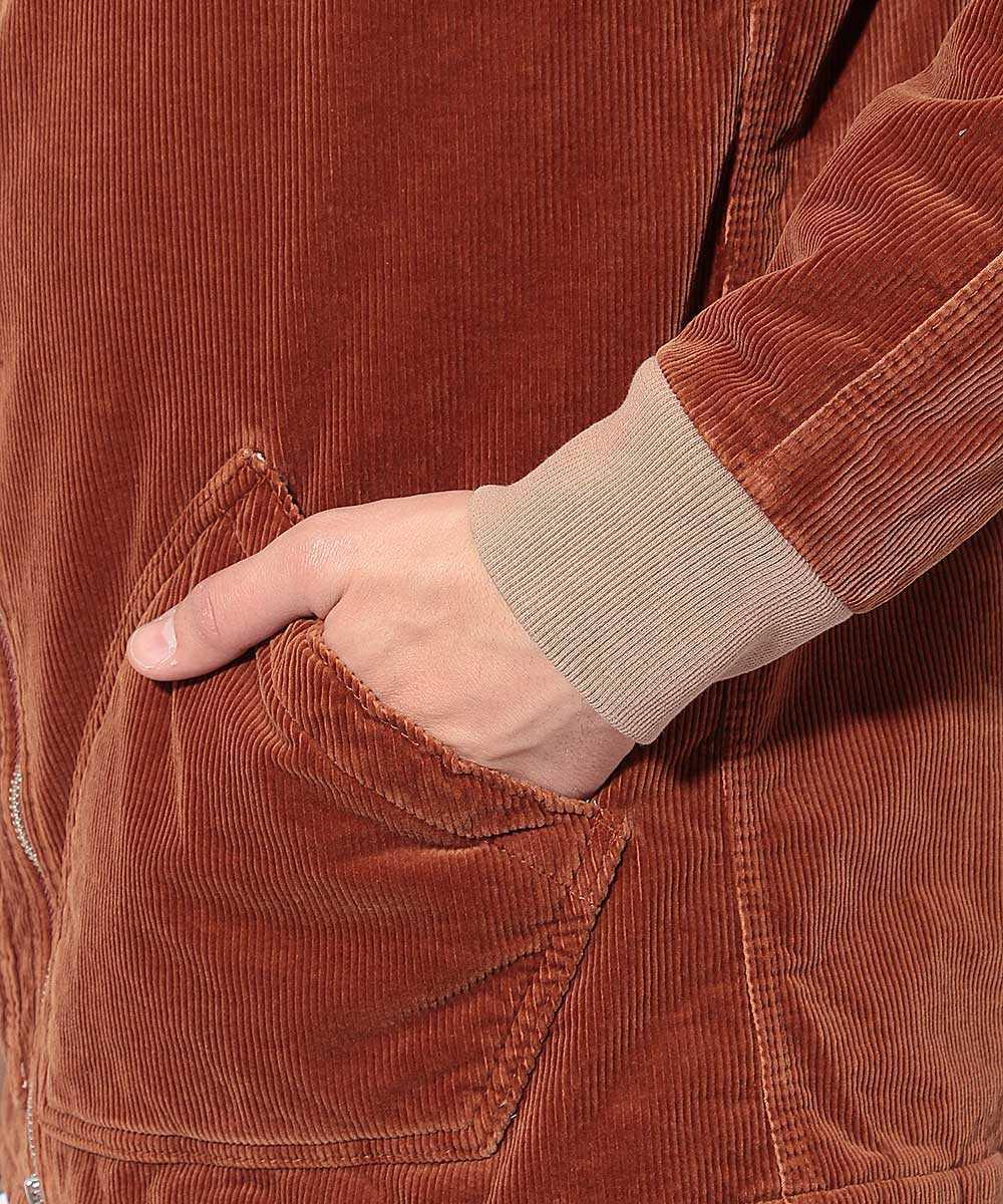 ボアフードジャケット