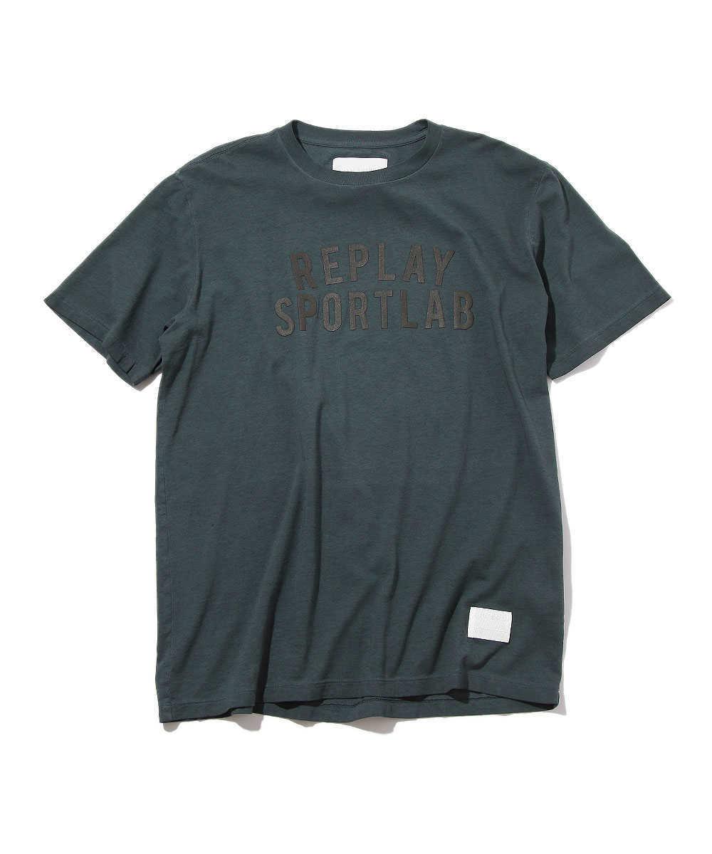 【スポーツ ラボ】プリントクルーネックTシャツ