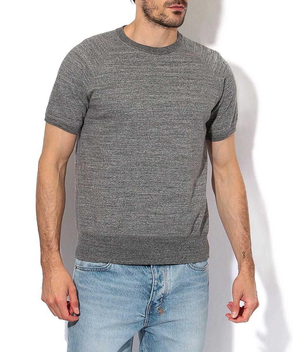 ショートスリーブラグランスウェットシャツ