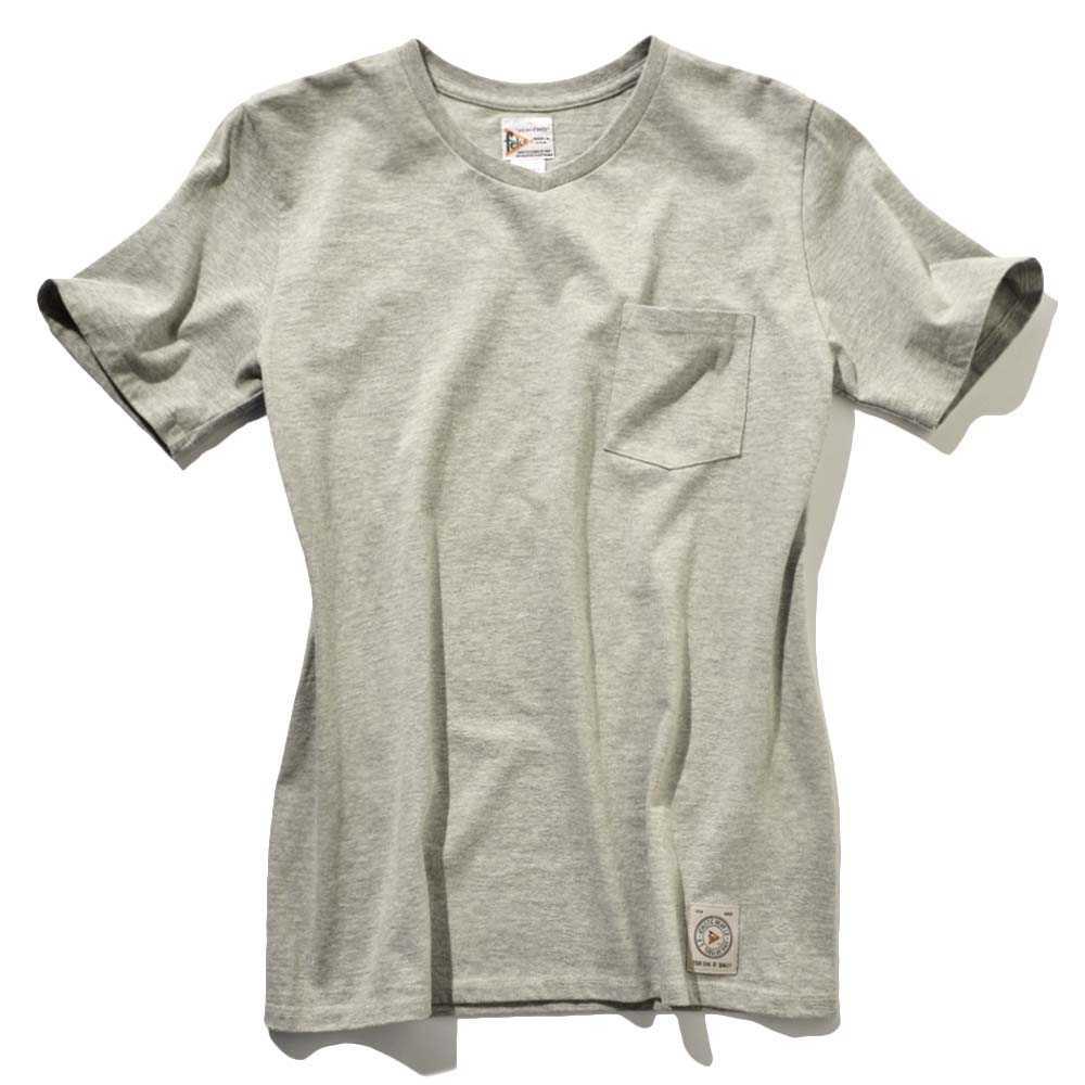VポケットTシャツ