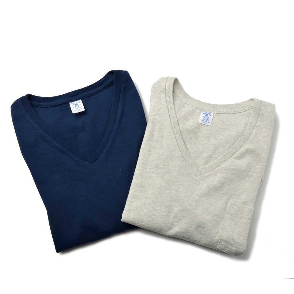 2パック VネックポケットTシャツ