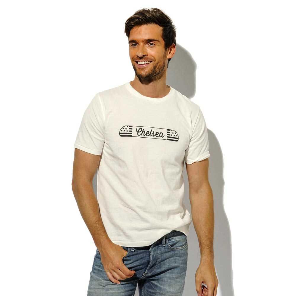 NYマップクルーネックプリントTシャツ