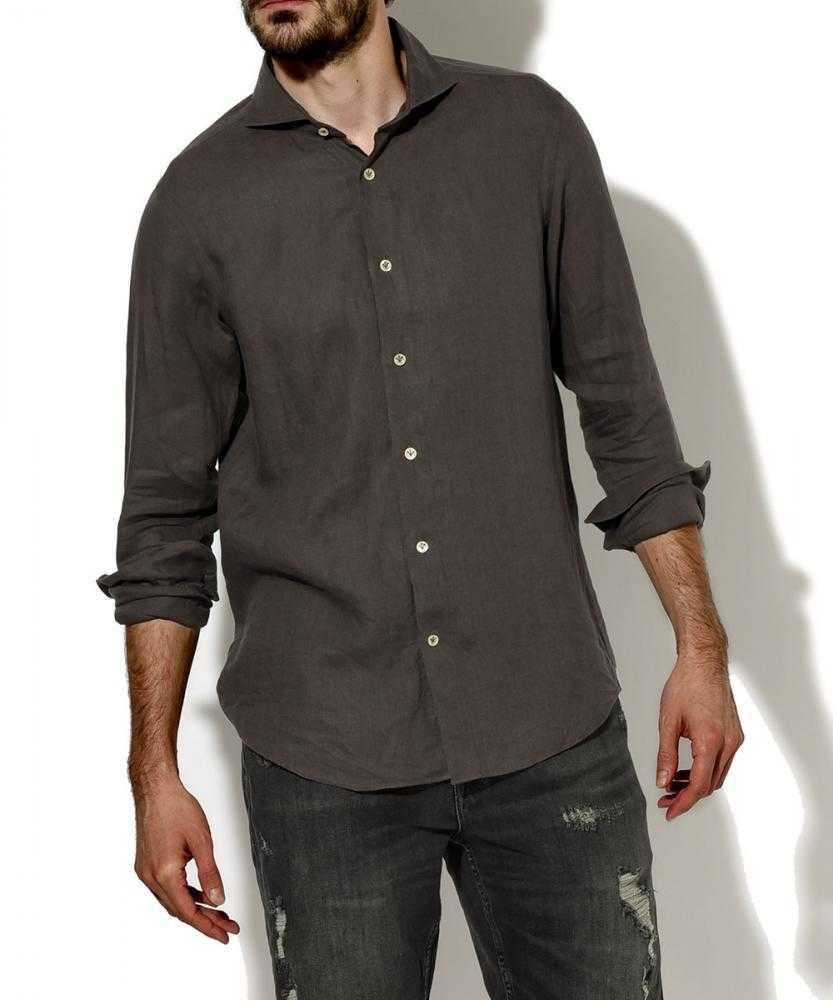 リネンアロエフィニッシュシャツ