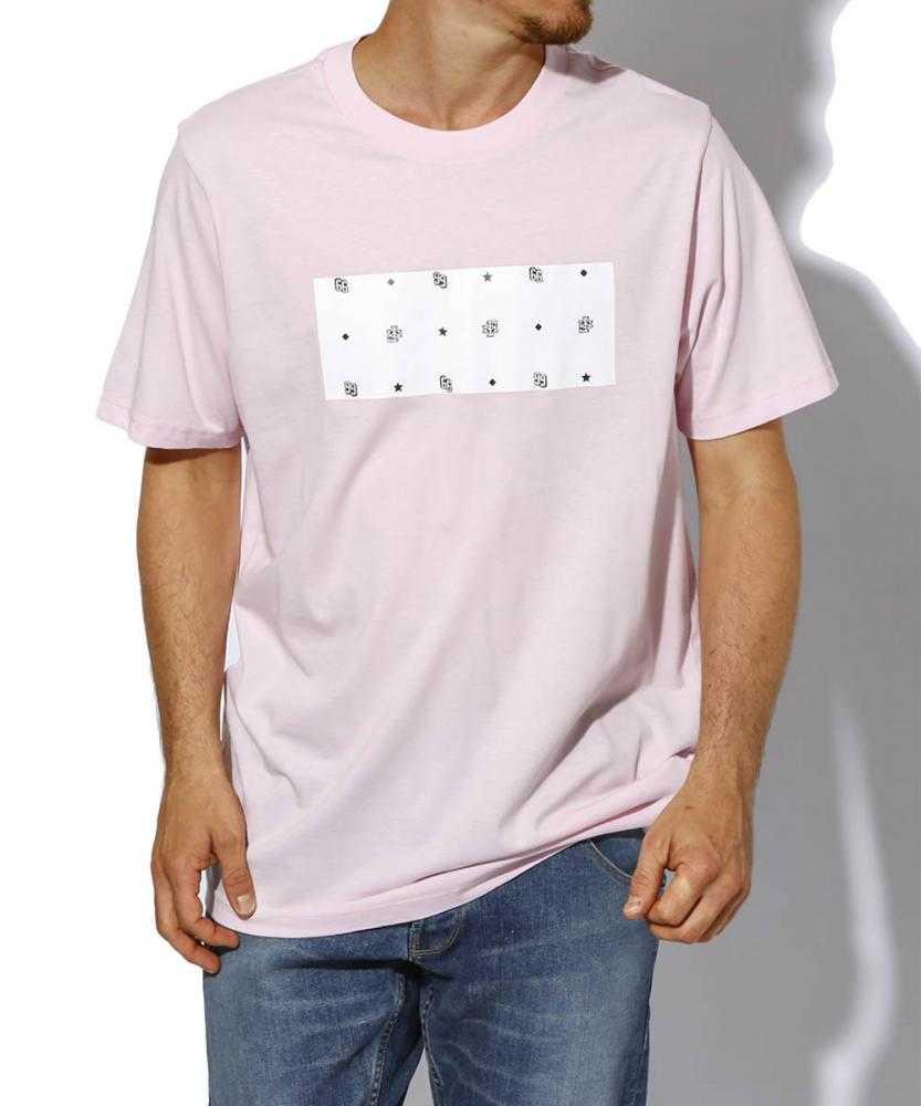 ボックスプリントTシャツ