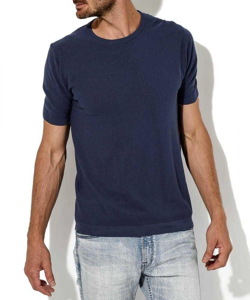 鹿の子ニットTシャツ
