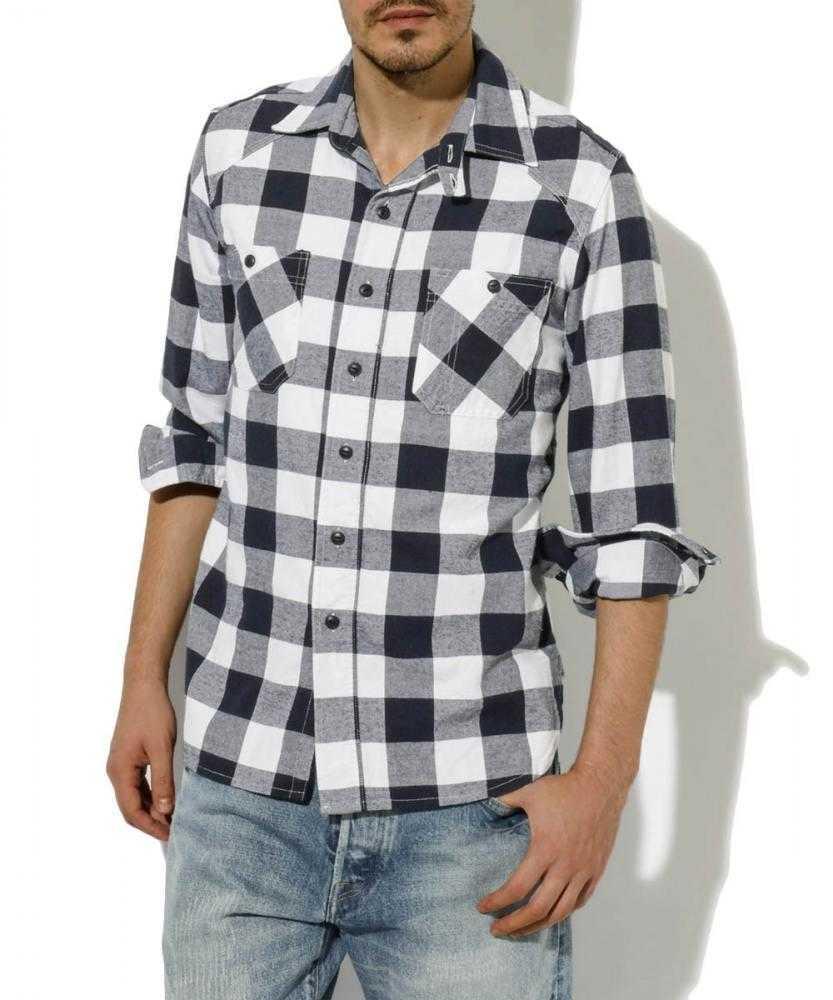 ネルチェックワークシャツ