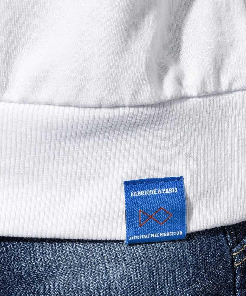 クルーネックスウェットシャツ