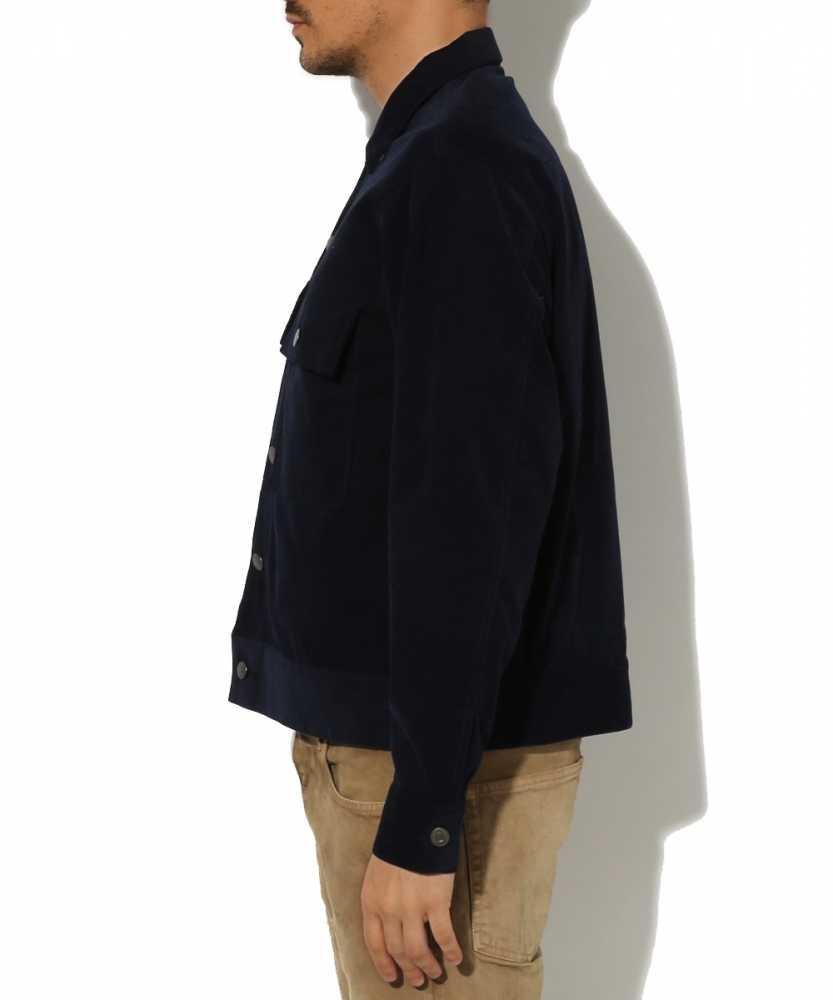 コーデュロイランチジャケット