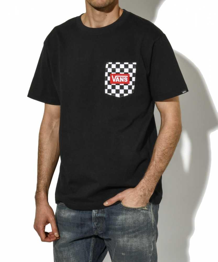 チェッカーポケットTシャツ
