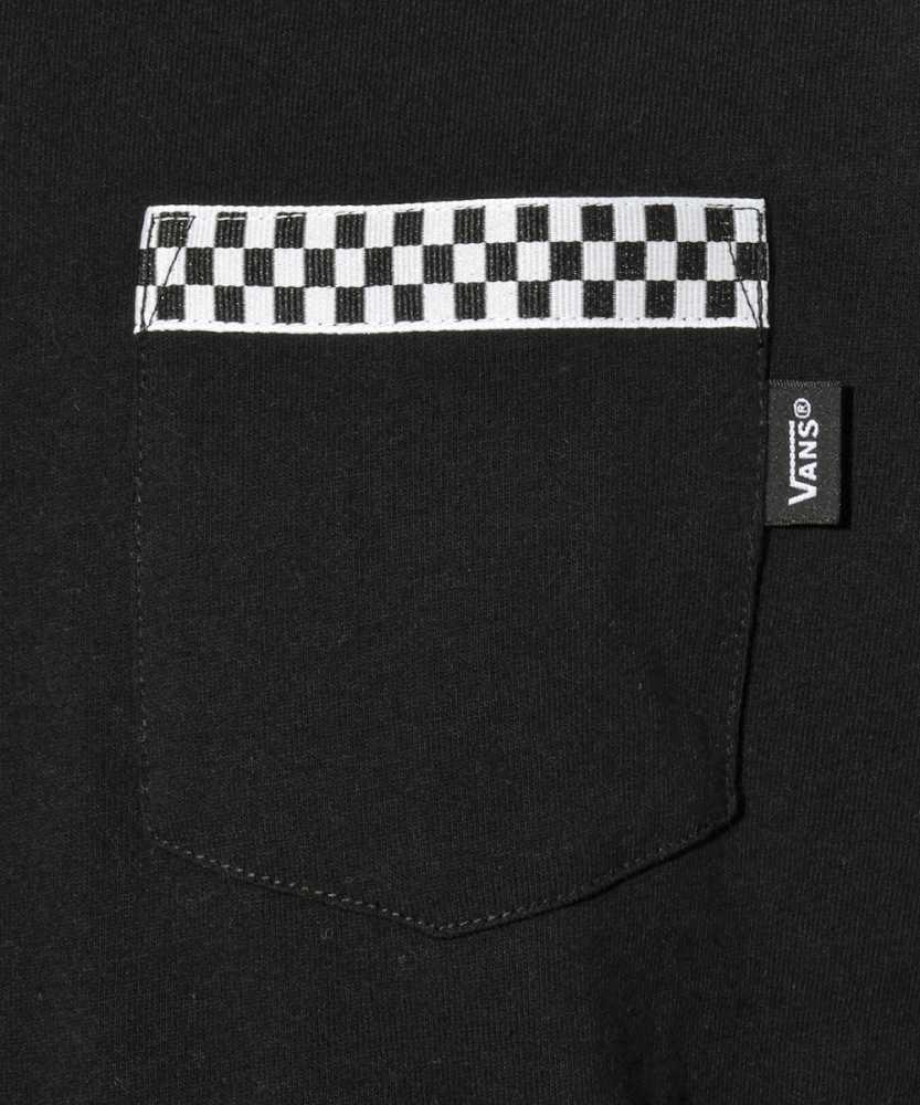 チェッカーポケットロングTシャツ