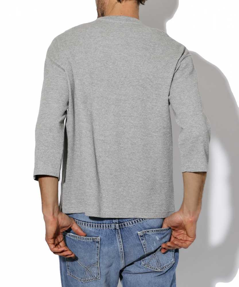 サーマルヘンリーネックTシャツ