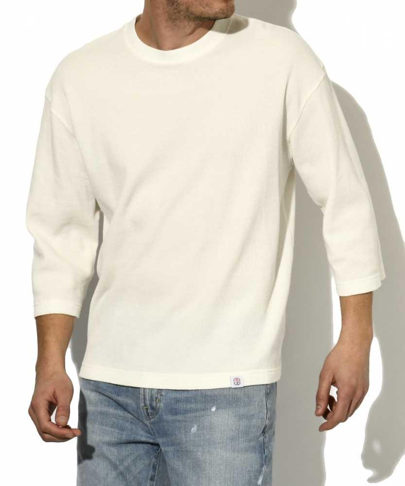 サーマルクルーネックTシャツ